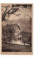 74 - SALLANCHES - Hôtel Belvédère - Les Aiguilles De Warens - 1938 (S131) - Sallanches