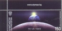 2019. Kyrgyzstan, Space, Apollo XI, 50y Of First Moon Landing, 1v, Mint/** - Kyrgyzstan