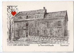 40496-ZE-62-SAINT-LAURENT-BLANGY-Le Manoir De Brayelle-------------édition Ducourtioux - Saint Laurent Blangy