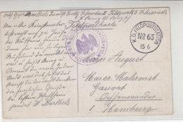 Feldpost Von Mobile Ortskommandantur ZDUNSKA-WOLA 15.6. (15) Feldpoststation No.65 - Briefe U. Dokumente