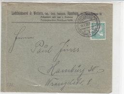 Brief Einer Lichtbildnerei .. Aus HAMBURG 18.1.26 SST - Allemagne