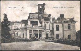 Romania - Vrancea County: Marasesti, Palatul G H. Negrupontes  1924 - Romania