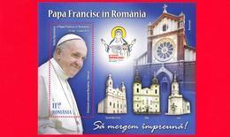 Nuovo - MNH - ROMANIA - 2019 - Viaggio Del Papa In Romania -  Chiese E Santuari In Romania - 11.50 - Ungebraucht