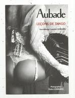 Cp ,publicité , Pin Up , AUBADE ,album Detango & Des Photos Exclusives De L'agenda 2004 ,2 Scans - Advertising