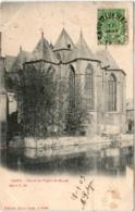 31rt 529 CPA - GAND - CHEVET DE L'EGLISE SAINT MICHEL - Gent