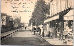 92 BOIS COLOMBES - Rue De La Paix. - Francia