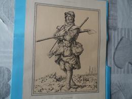 GUERRE DE 1914-1918  -  LE FUSILIER-MITRAILLEUR (au Recto  - LE VOLTIGEUR (au Verso) - Documents
