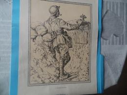 GUERRE DE 1914-1918  -  L'OBSERVATEUR  (au Recto)  -  LE GRENADIER (au Verso) - Documents