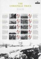 Gran Bretagna, 2014 CS26 La Tregua Di Natale 1914, I Guerra Mondiale, Smiler, Con Custodia, Perfetto - Personalisierte Briefmarken