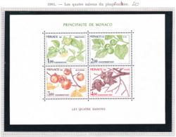 Monaco - Bloc Feuillet - 1981 - BF N°20** - Blocs