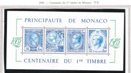 Monaco - Bloc Feuillet - 1985 - BF N°33** - Blocs