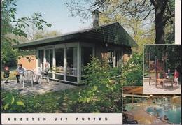 1966 Groeten Uit Putten (Landal Greenparks)  In Kleur Gelopen - Putten