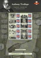 Gran Bretagna, 2015 CS28 200° Ann. N. Di Anthony Trollope, Smiler, Con Custodia, Perfetto - Personalisierte Briefmarken