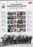Gran Bretagna, 2015 CS31 60° Ann. Del Premio Duca Di Edimburgo Smiler, Con Custodia, Perfetto - Personalisierte Briefmarken
