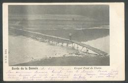 CP Des Bords De La Semois - Pont De CLAIES Affr. N°56 Obl. Sc PETIT FAYS 7 Sept. 1902 Vers Dour.  - W0483 - Bièvre