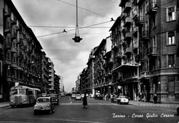 TORINO-CORSO GIULIO CESARE-AUTO E AUTOBUS D'EPOCA - Multi-vues, Vues Panoramiques