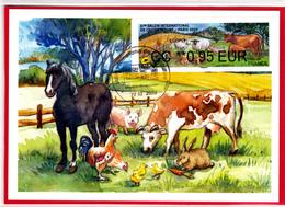 Atm-Lisa / Brother / CM Eco 0.95 €  Obl 22.02.2020 Salon De L'agriculture 2020 - 2010-... Vignettes Illustrées