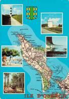 Ile D'oleron Carte Geographique 1984  CPM Ou CPSM - Ile D'Oléron