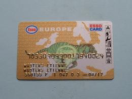ESSO Europe > Esso Card ( Zie/ Voir Foto's ) ! - Autres Collections