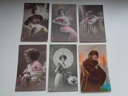 Beau Lot De 60 Cartes Postales De Fantaisie Femmes Femme   Mooi Lot Van 60 Postkaarten Fantasie Vrouwen Vrouw - 60 Scans - 5 - 99 Postkaarten