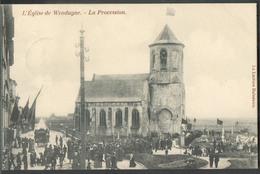 CP De  WENDUINE Eglise - La Procession - W0490 - Wenduine