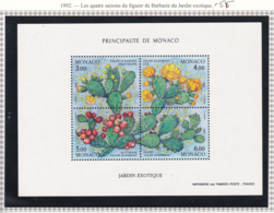 Monaco - Bloc Feuillet - 1992 - BF N°55** - Blocs