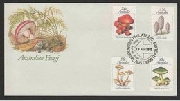 AUSTRALIA - 19 8 1981  FDC FUNGHI - Funghi