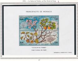Monaco - Bloc Feuillet - 1994 - BF N°67** - Blocs