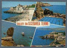 °°° Cartolina - Saluti Da S. Cesarea Terme Vedute Nuova °°° - Lecce