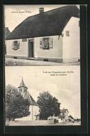 CPA Roggenhausen, Gasthaus Stephan Fürling, L'Église Et Schule - Unclassified