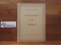 Wanderungen Auf Rhodos. - Books, Magazines, Comics