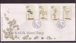 NORFOLK ISLAND - 29 3 1983 FDC FUNGHI - Funghi
