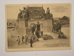 Bruxelles : Tombe Du Soldat Inconnu - Monuments, édifices