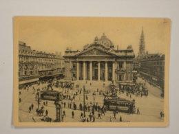 Bruxelles : La Bourse - Monuments, édifices