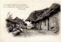 REPRO - Bourgogne-Morvan-Auxois-Nivernais - Rue D'un Village Morvandiau - Bourgogne