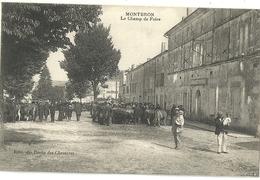 MONTBRON.  Le Champ De Foire. - France