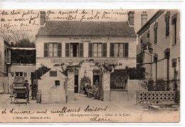 Montigny-sur-Loing-Hôtel De La Gare - France