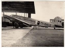AEREO PLANE AIRCRAFT SAVOIA MARCHETTI SM95 ALITALIA - FOTO ORIGINALE ANNI '50 - Aviazione