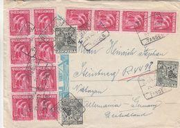 Espagne - Tanger - Lettre De 1953 ° - Oblit Tanger - - Spanisch-Marokko