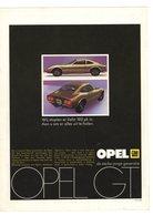 OPEL GT - 'Dit Is Nieuws !. Opel Presenteert De Opel GT.'  - GM - CHEVRON/CALTEX - Auto/moto