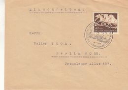 Allemagne - Empire - Lettre De 1942 - Oblit München - Exp Vers Berlin - Chevaux - Valeur 14 Euros - Allemagne