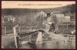 La Bastide-Puylaurent Village La Poste Passerelle Rivière L' Allier * Lozère 48250 * La Bastide Puylaurent - Francia
