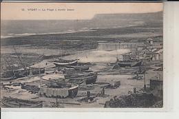 76  -  YPORT -  Plage à Marée Basse  (Nombreuses Caiques) - Yport