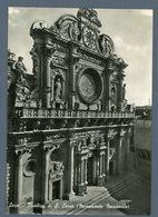 °°° Cartolina - Lecce Basilica Di S. Croce Viaggiata °°° - Lecce