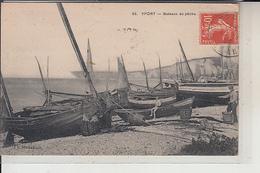 76  -  YPORT -  Bateaux De Pêche...1923 - Yport