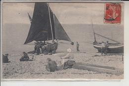 76  -  YPORT -  Désarmement  Du Bateau - Yport