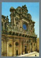 °°° Cartolina - Lecce Chiesa S. Croce Viaggiata °°° - Lecce