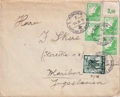 ALLEMAGNE 1938 LETTRE DE MÜNCHEN - Allemagne