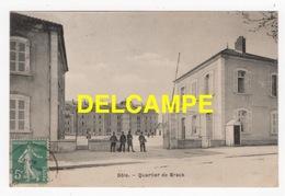DD / MILITARIA / CASERNES / DÔLE (39) / QUARTIER DE BRACK / ANIMÉE / 1911 - Caserme