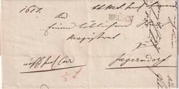 TCHECOSLOVAQUIE  1850 LETTRE DE BRÜNN/BRNO - Tchécoslovaquie